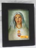 Immaculate Heart of Mary 5x7 Black Framed Print