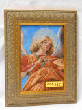 Angel Playing Violin 5x7 Framed Print