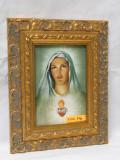 Immaculate Heart 5x7 Ornate Framed Print