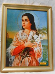 St. Maria Goretti 12x16 Framed Print