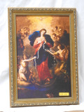 Mary Undoer of Knots 10x14 Gold Framed Print