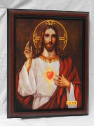 Sacred Heart of Jesus Blessing 11x14 Framed Print