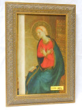 Mary at the Annunciation 7x10 Framed Print