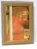 St. Gabriel at the Annunciation 8x11 Framed Print