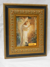 Christ at Heart's Door 5x7 Framed Print