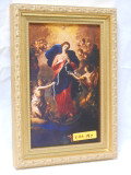 Mary Undoer of Knots 5x8 Gold Framed Print