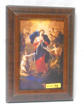 Mary Undoer of Knots 5x8 Wood Framed Print
