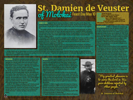Saint Damien de Veuster of Molokai Explained Poster