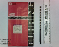 ".2380 ""B"" (6.04mm) 2F HSS Drill Long Guhring"