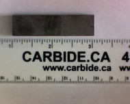 3/16 x 1/2 x 2 Carbide Strip