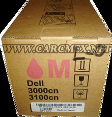 DELL IMPRESORA 3010 TONER ORIGINAL NEW DELL  MAGENTA (2K) TH209 /  XH005 / 341-3570 / A7247609
