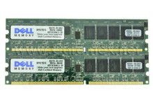 DELL POWEREDGE 1650  MEMORIA  2GB( 2 X 1GB ) PC133 ECC REGISTERED 168PIN 128 X72 -133MHZ PC133 DELL REFURBISHED SNP9U175C/1G