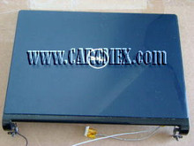 DELL INSPIRON 1318 LCD PACIFIC BLUE BACK COVER, BLACK TRIM COVER W/CAM + HINGES REFURBISHED DELL F205H,  P399H, R340H