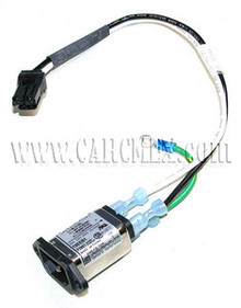 DELL POWEREDGE 1600SC, 4600 POWER PLUG CABLE ASSEMBLY CORCOM 15A 250V REFURBISHED DELL 15EEB1, F7897, 7F027