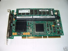 DELL PERC4 4/DC DUAL CHANNEL SCSI RAID CONTROLLER + 128MB MEMORY  REFURBISHED DELL  J4717 , 1U294 , D9205 , NK025
