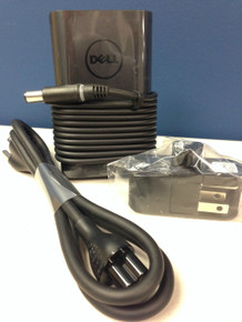 DELL LAPTOP E5 PA-12 SLIM POWER ADAPTER 65W 19.5V 3.34A  WITH POWER CABLE (2JVNJ) 7.4MM 5.0MM (ROUND BARREL, W/ CENTER PIN) / ADAPTADOR DE CORRIENTE 65W 19.5V CON CABLE NEW DELL 6TFFF, M1P9J, 332-1831, 4H6NV, JNKWD, DPW2X, 492-BBOM