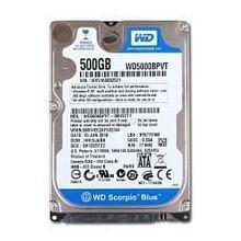 DELL LAPTOP DISCO DURO 500GB SATA  2.5 X 1/8H 5400 RPM NEW DELL KRH94, WD5000LPVX