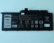 DELL LAPTOP INSPIRON 15 7537, INSPIRON 17 7537, ORIGINAL BATTERY 4 CEL 58WHR 14.8V TYPE-F7HVR  BLACK NEW DELL 62VNH, Y1FGD, 89JW7, 451-BBEN , G4YJM, T2T3J