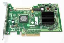 DELL POWEREDGE 1950, 2950, SC1430 PERC5/IR SAS RAID CONTROLLER CARD / TARJETA CONTROLADORA 256MB NEW DELL MG129, UN939, GU186, RD996, E2K-UCS-51(B)