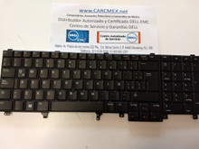 DELL LAPTOP LATITUDE E5520 E5530 E6520 E6530 PRECISION M4600 M4700 M6600 M6700 KEYBOARD SPANISH NON-BACKLIT / TECLADO EN ESPAÑOL NO-RETROILUMINADO NEW DELL 7C554, NSK-DW2UC, PK130FH1E21