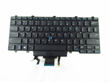 DELL LAPTOP LATITUDE 3340 E5450 E7250 E7450 E7470 SPANISH KEYBOARD DUAL POINT BACKLITE BLACK / TECLADO BACKLIT ESPAÑOL DOBLE PUNTO NEGRO NEW DELL, KFHY6