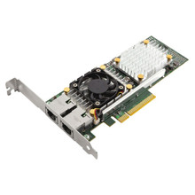 DELL BROADCOM 57810 DUAL PORT 10GBASE-T 10 NETWORK ADAPTER NEW DELL 1K3N3, 430-4413, BCM957810A1008G