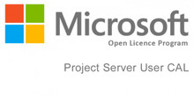 MICROSOFT PROJECT SERVER CAL 2016 SNGL OLP NL USER CAL H21-03453