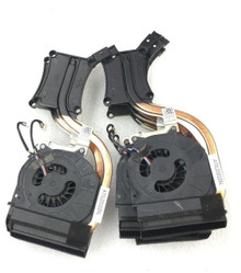 DELL LATITUDE E6430 COOLING FAN WITH HEATSINK 20MM, (4 WIRE) 4-PIN CONNECTOR / VENTILADOR CON DISIPADOR DE CALOR 4 PINES  REFURBISHED DELL 0XDK0, AT0LD002ZAL , AT0LD002ZCL , MF60120V1-C360-G9A