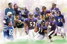 Baltimore Ravens Art Print - Wishum Gregory