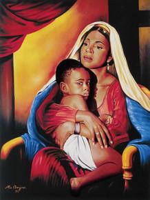 Amour Maternelle Art Print - Alix Beaujour