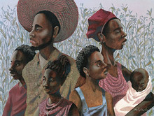 Homage To The Black Family Art Print - John Holyfield