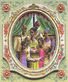 Family Limited Edition Art Print - John Holyfield