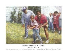 Developing A Winner Art Print - Brenda Joysmith