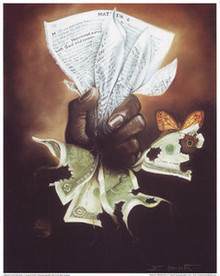 Pages or Wages Art Print Edwin Lester