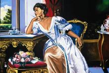 Victorian Lady Art Print - Alix Beaujour