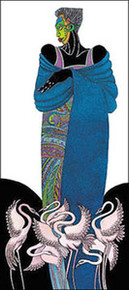 Ebony 8 (Blue) Limited Edition Art Print - Charles Bibbs