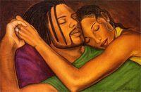 Cherishing The Moment Art Print - Fred Mathews