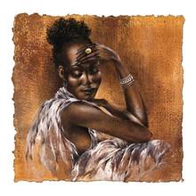Ebony I Art Print - Ben Mogador 2043