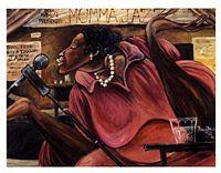 Momma Jazz Art Print - Frank Morrison
