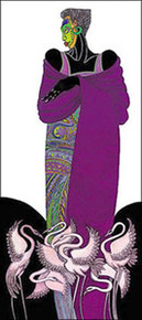Ebony 8  (purple) Limited Edition Art Print - Charles Bibbs