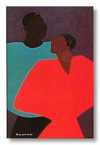 Dissappearing Acts Art Print - Synthia Saint James