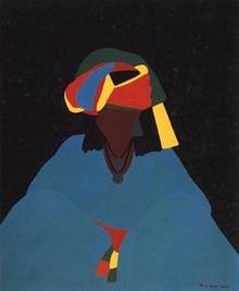 Oroma Woman Limited Edition Art - Synthia Saint James