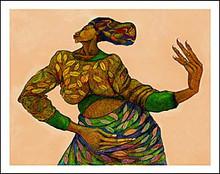 Dancing Hands Limited Edition Art Print - Charles Bibbs