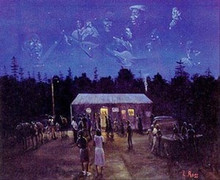 Juke Joint Art Print - Lavarne Ross