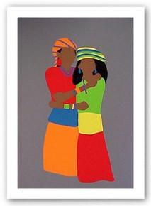 Sisters - Seirgraph Edition Art Print - Synthia Saint James