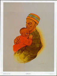 Father Love I Art Print - Sylvia Walker
