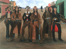Sistas N Arms Art Print - Dwight Juda Ward