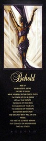 Behold (Statement Edition) Art Print - Kevin A. Williams WAK