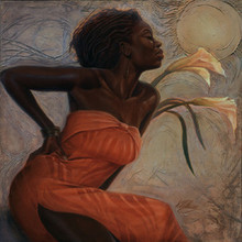 African Lillies Limited Edition Art Print - Kevin A. Williams WAK
