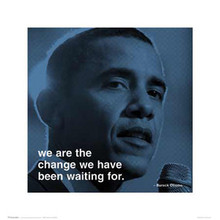 Barack Obama: We Are the ChangeArt Poster